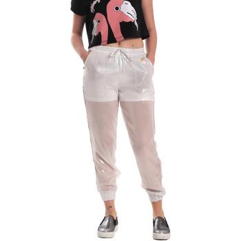 Textiel Dames Trainingsbroeken Fornarina SE171L95CA0509 Wit
