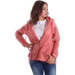 Textiel Dames Windjack Fornarina SE173C30N29968 Roze