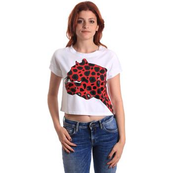 Textiel Dames T-shirts korte mouwen Fornarina SE175L32JG0709 Rood