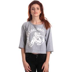 Textiel Dames Sweaters / Sweatshirts Fornarina SE176841F42706 Grijs