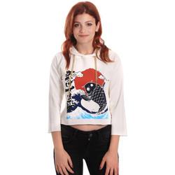 Textiel Dames Sweaters / Sweatshirts Fornarina SE176842F42709 Wit