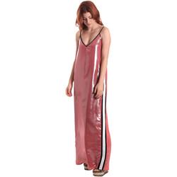Textiel Dames Lange jurken Fornarina SE178D61CA05E9 Roze