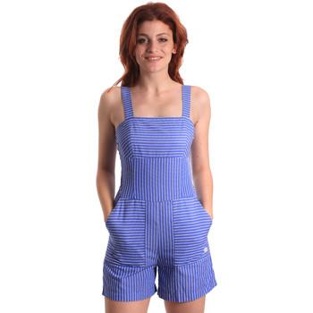 Textiel Dames Jumpsuites / Tuinbroeken Fornarina SE178D80CA1411 Blauw