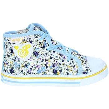 Schoenen Meisjes Hoge sneakers Primigi 7254 Blauw