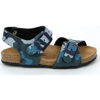 Schoenen Kinderen Sandalen / Open schoenen Grunland SB0911 Blauw