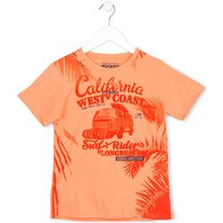 Textiel Kinderen T-shirts korte mouwen Losan 713 1022AA Oranje