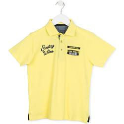 Textiel Kinderen Polo's korte mouwen Losan 713 1032AA Geel
