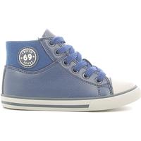 Schoenen Jongens Hoge sneakers Chicco 01056564000000 Blauw