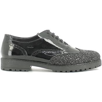 Schoenen Kinderen Derby Alberto Guardiani GK22100G/--B/XV00-- Zwart