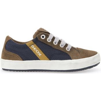 Schoenen Kinderen Lage sneakers Geox J642CA 0FU22 Bruin