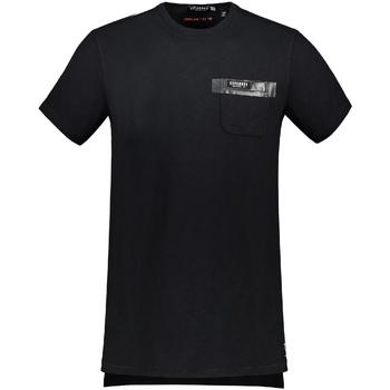 Textiel Heren T-shirts korte mouwen Superdry M10002TO Zwart