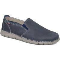 Schoenen Heren Instappers CallagHan 84701 Blauw