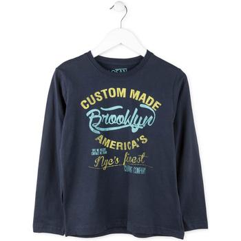 Textiel Jongens T-shirts met lange mouwen Losan 713 1202AA Blauw