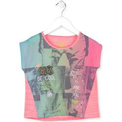 Textiel Meisjes T-shirts korte mouwen Losan 714 1017AB Roze