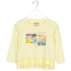 Textiel Kinderen Truien Losan 714 1031AB Geel