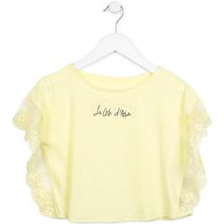 Textiel Meisjes Tops / Blousjes Losan 714 1032AB Geel