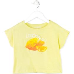 Textiel Meisjes T-shirts korte mouwen Losan 714 1211AB Geel