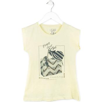 Textiel Meisjes T-shirts korte mouwen Losan 714 1212AB Geel