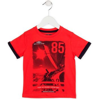 Textiel Jongens T-shirts korte mouwen Losan 715 1001AC Rood