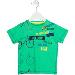 Textiel Jongens T-shirts korte mouwen Losan 715 1014AC Groen