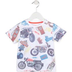 Textiel Jongens T-shirts korte mouwen Losan 715 1017AC Wit