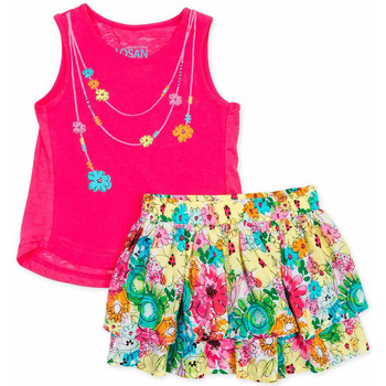 Textiel Meisjes Setjes Losan 716 8001AD Roze