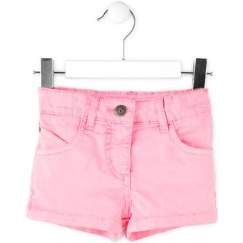 Textiel Meisjes Korte broeken / Bermuda's Losan 716 9652AD Roze