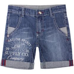 Textiel Jongens Korte broeken / Bermuda's Primigi 37242031 Blauw