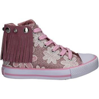 Schoenen Meisjes Hoge sneakers Lulu LV010072S Roze