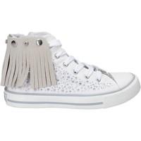 Schoenen Meisjes Hoge sneakers Lulu LV010074T Wit
