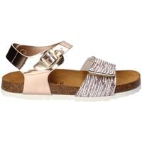 Schoenen Meisjes Sandalen / Open schoenen Bamboo BAM-218 Wit