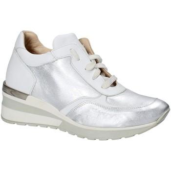 Schoenen Dames Lage sneakers Exton E06 Zilver