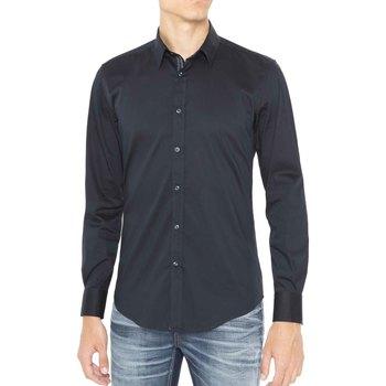 Textiel Heren Overhemden lange mouwen Antony Morato MMSL00415 FA450001 Blauw