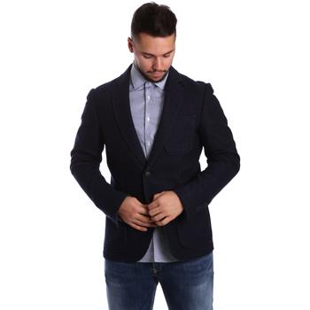 Textiel Heren Jasjes / Blazers Antony Morato MMJA00322 FA500034 Blauw