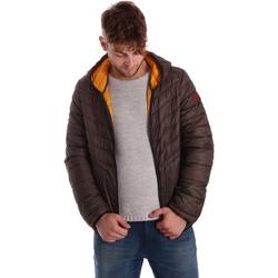 Textiel Heren Dons gevoerde jassen Gaudi 721BU35009 Bruin