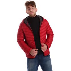 Textiel Heren Dons gevoerde jassen Gaudi 721BU35009 Rood