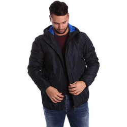 Textiel Heren Dons gevoerde jassen Ea7 Emporio Armani 6YPB34 PN02Z Blauw