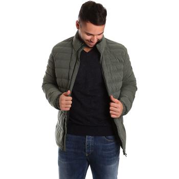 Textiel Heren Dons gevoerde jassen Ea7 Emporio Armani 6YPB23 PNB7Z Groen