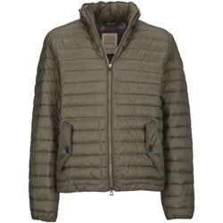 Textiel Heren Dons gevoerde jassen Geox M7429C T2432 Groen