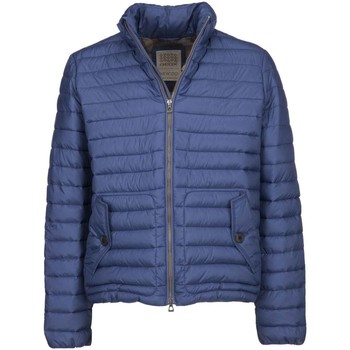 Textiel Heren Dons gevoerde jassen Geox M7429C T2432 Blauw