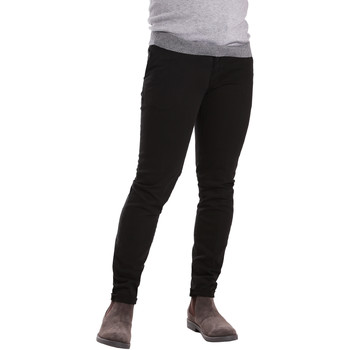 Textiel Heren Chino's Sei3sei PZV21 7275 Zwart