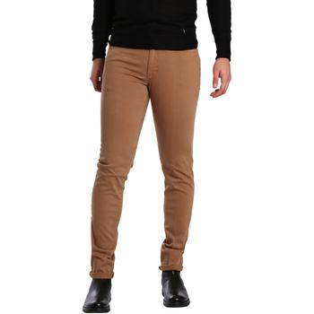 Textiel Heren 5 zakken broeken Sei3sei PZV16 7239 Beige