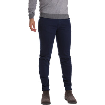 Textiel Heren 5 zakken broeken Sei3sei PZV17 7257 Blauw