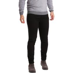 Textiel Heren 5 zakken broeken Sei3sei PZV17 7257 Zwart