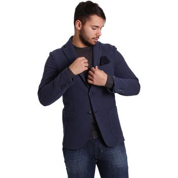 Textiel Heren Jasjes / Blazers Sei3sei PZG9 7290 Blauw