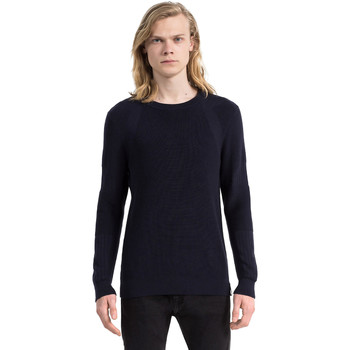 Textiel Heren Truien Calvin Klein Jeans J30J305473 Blauw