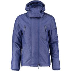 Textiel Heren Parka jassen Superdry M50007ZPF3 Blauw
