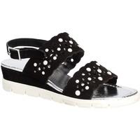 Schoenen Dames Sandalen / Open schoenen Keys 5915 Zwart