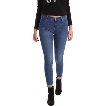 Textiel Dames Skinny Jeans Gas 355652 Blauw
