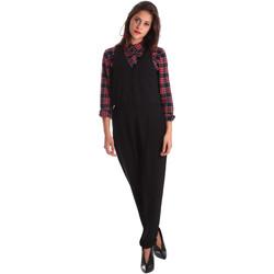 Textiel Dames Jumpsuites / Tuinbroeken Pepe jeans PL230187 Zwart